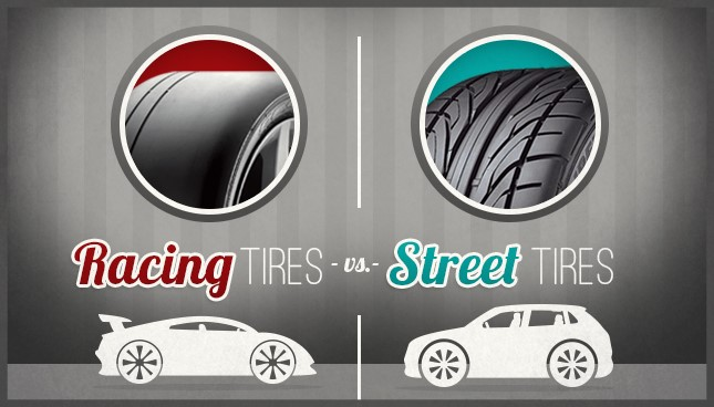 What is the difference between street tyres and racing tyres - pitstoparabia